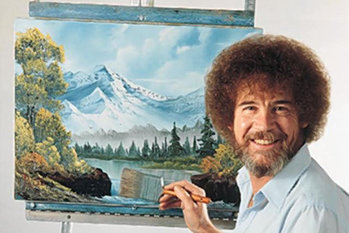 The joy of statistically analyzing bob ross happy little trees just a handful of recurring elements define bob ross calming and instructive landscape paintings and fivethirtyeight has gone through every single one voltagebd Gallery
