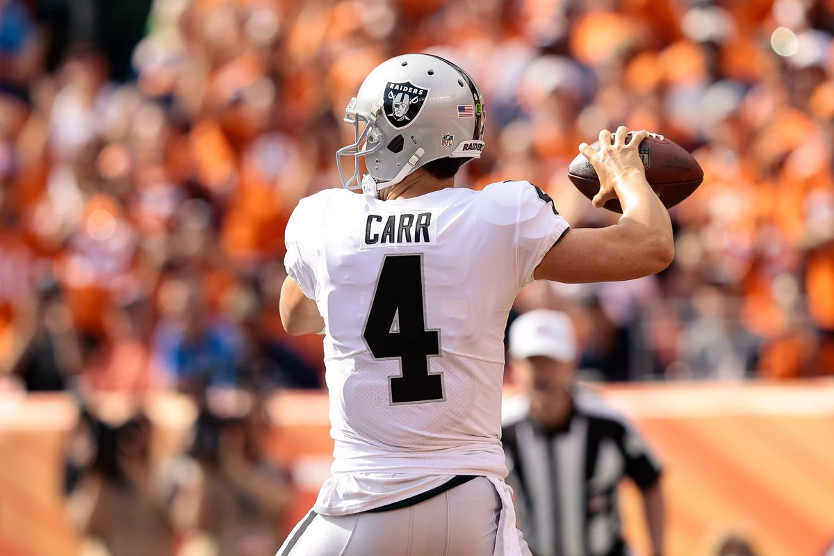 Derek Carr injury update How to handle Raiders QB vs Chargers