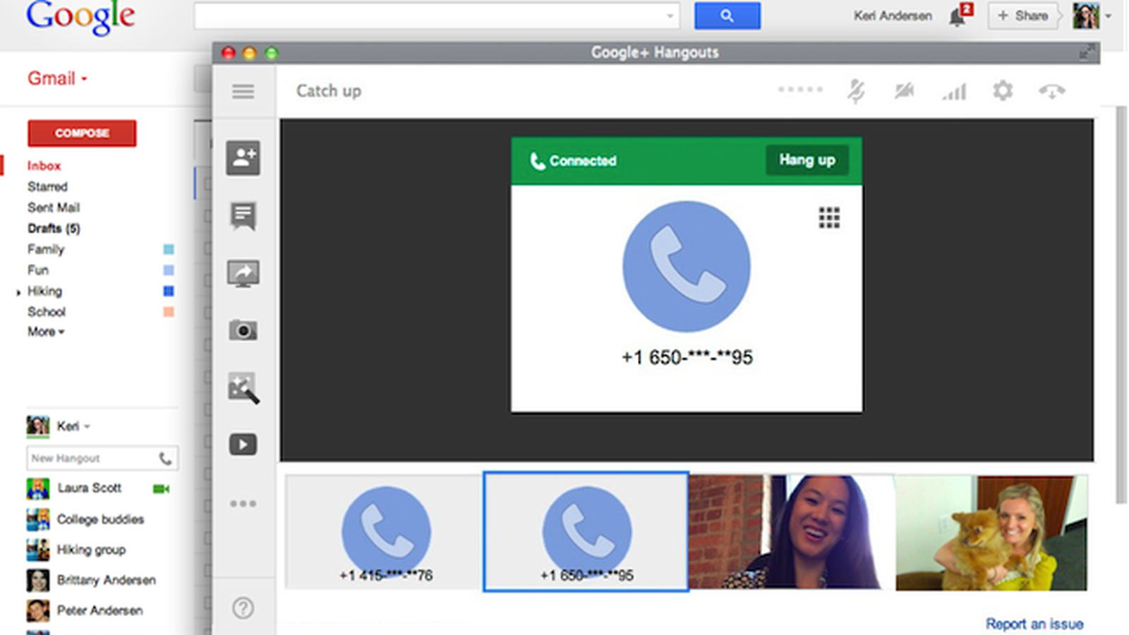 Google adds voice calling to Hangouts, promises 'the future