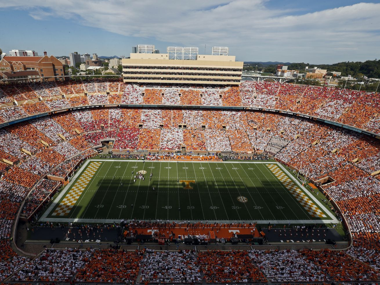 BYU ready for a 'different type of loud' and all the other pageantry at Tennessee's massive and iconic Neyland Stadium
