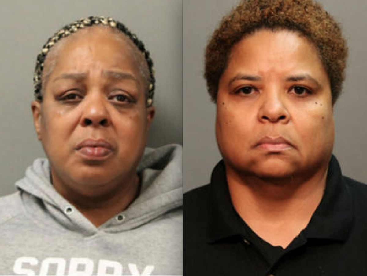 Juanita Tyler (left) and Kristen Haynes face criminal charges after a boy in Haynes' CPS class was beaten at school. | Chicago Police