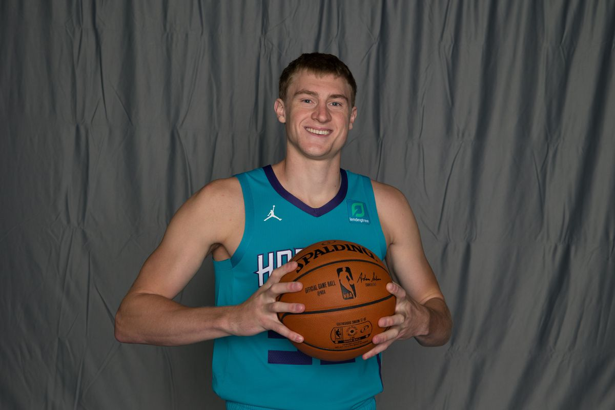 681397aedc77 Charlotte Hornets transfer J.P Macura to NBA roster - At The Hive