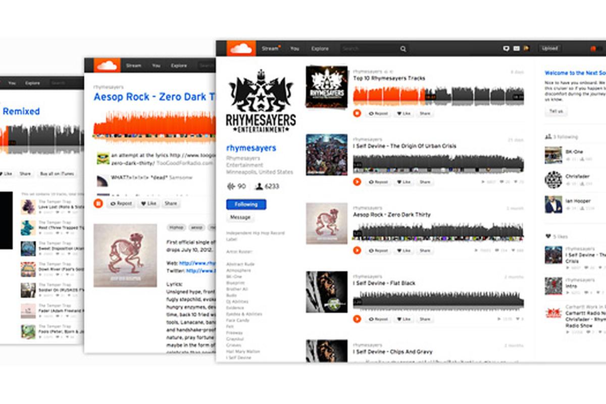 New Soundcloud