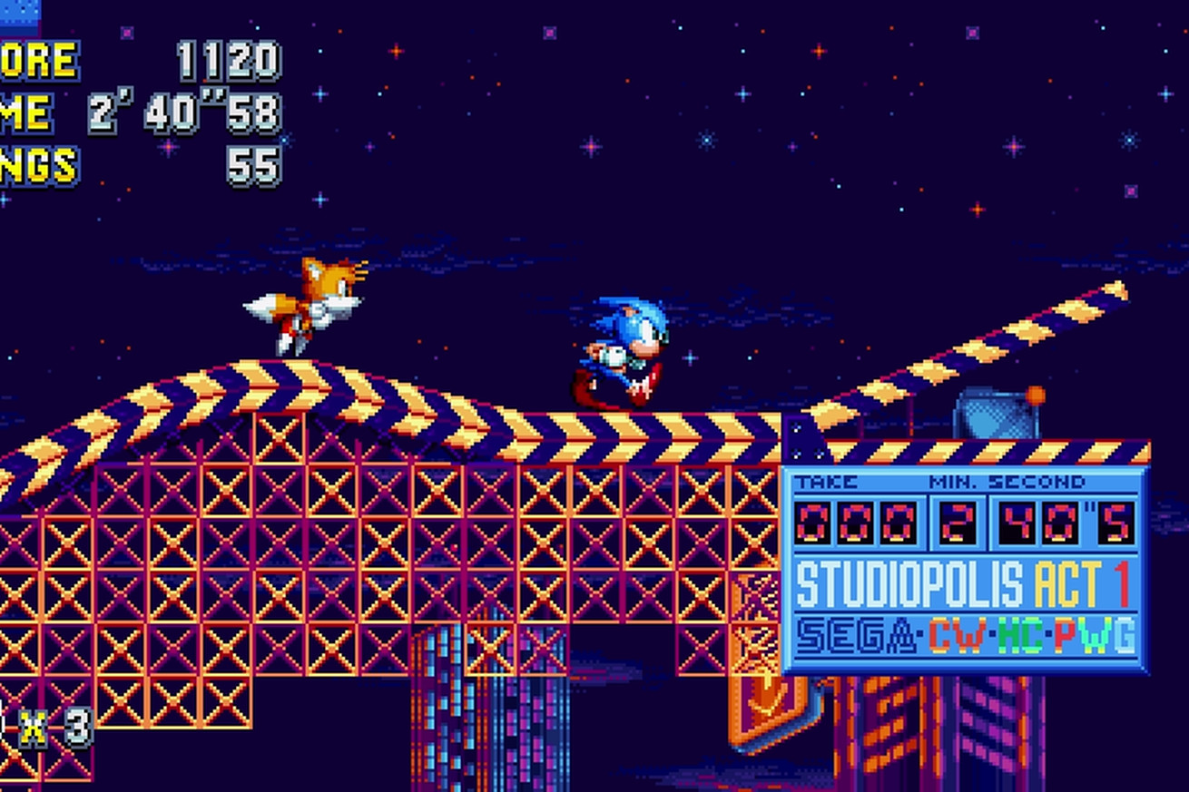 sonic mania review the return to form you ve been waiting for