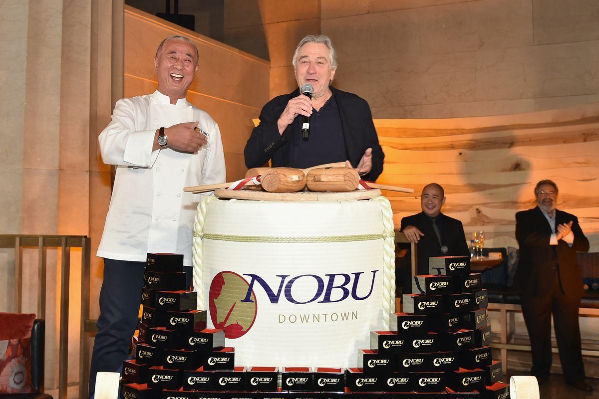 Nobu Downtown Sake Ceremony