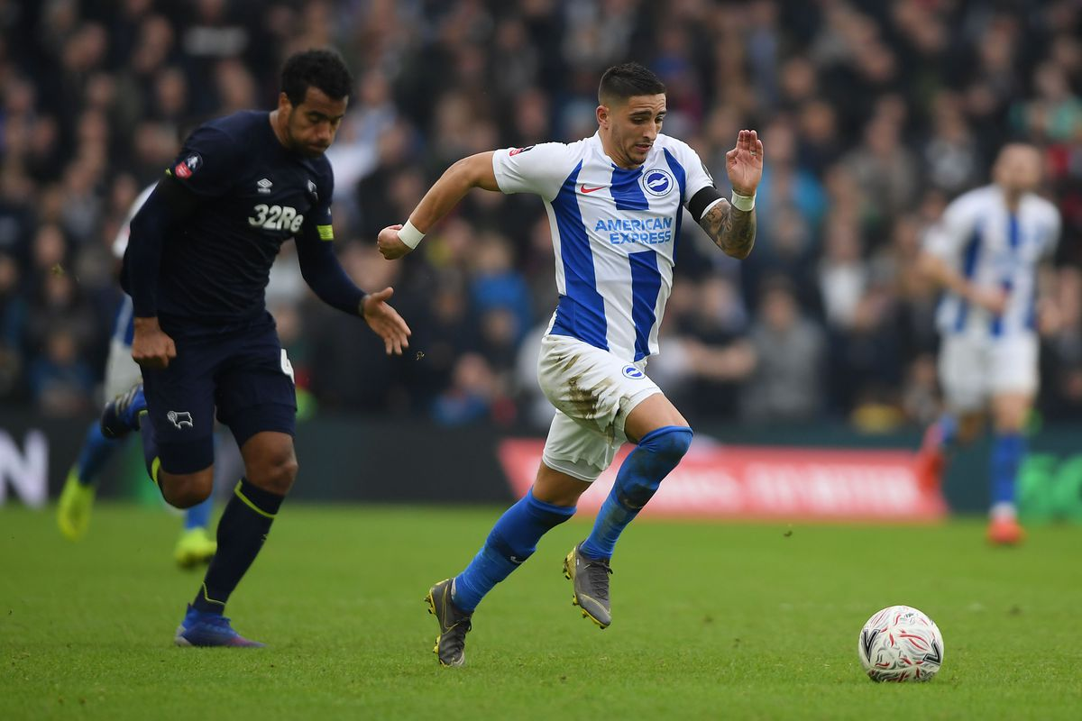 Brighton and Hove Albion v Derby County - FA Cup Fifth Round