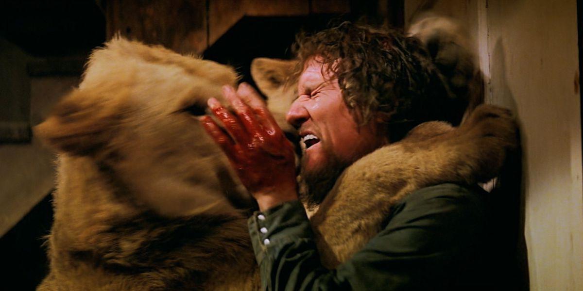 Roar: a lion mauls star Noel Marshall