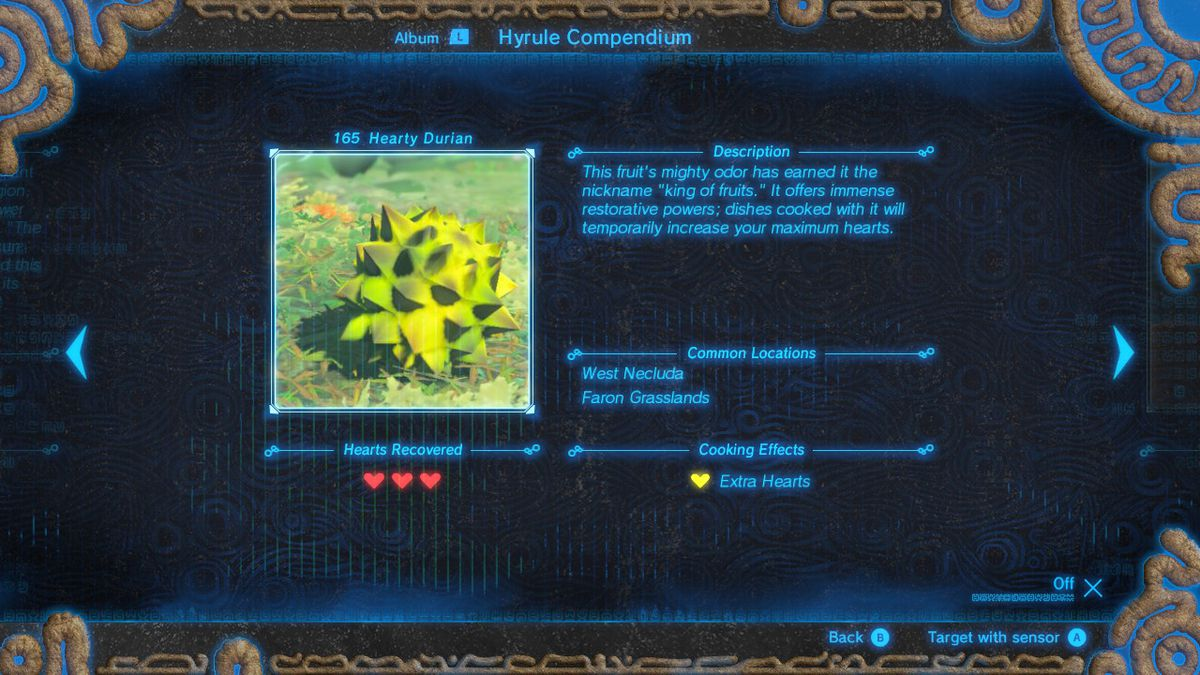 Zelda breath of the wilds easiest way to gain hearts from food the king of cooking ingredients nintendo via polygon forumfinder Choice Image