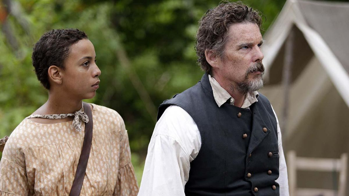Ethan Hawke stars as abolitionist John Brown in Good Lord Bird