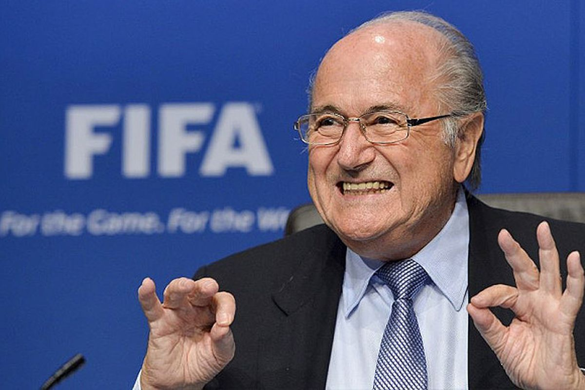 Sepp Blatter returns for a record fifth term as President of FIFA