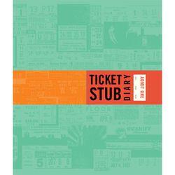 "Ticket Stub Diary from Xylem, <a href=""http://www.shopxylem.com/shop/books/ticket-stub-diary"">$12.95</a>, for the sentimental event-goer."