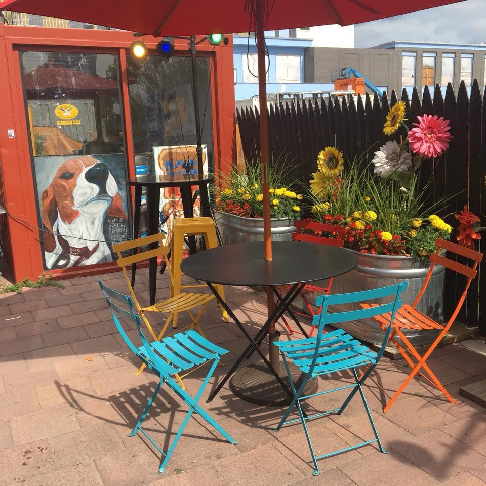 Slumbrew's Assembly Row beer garden is back