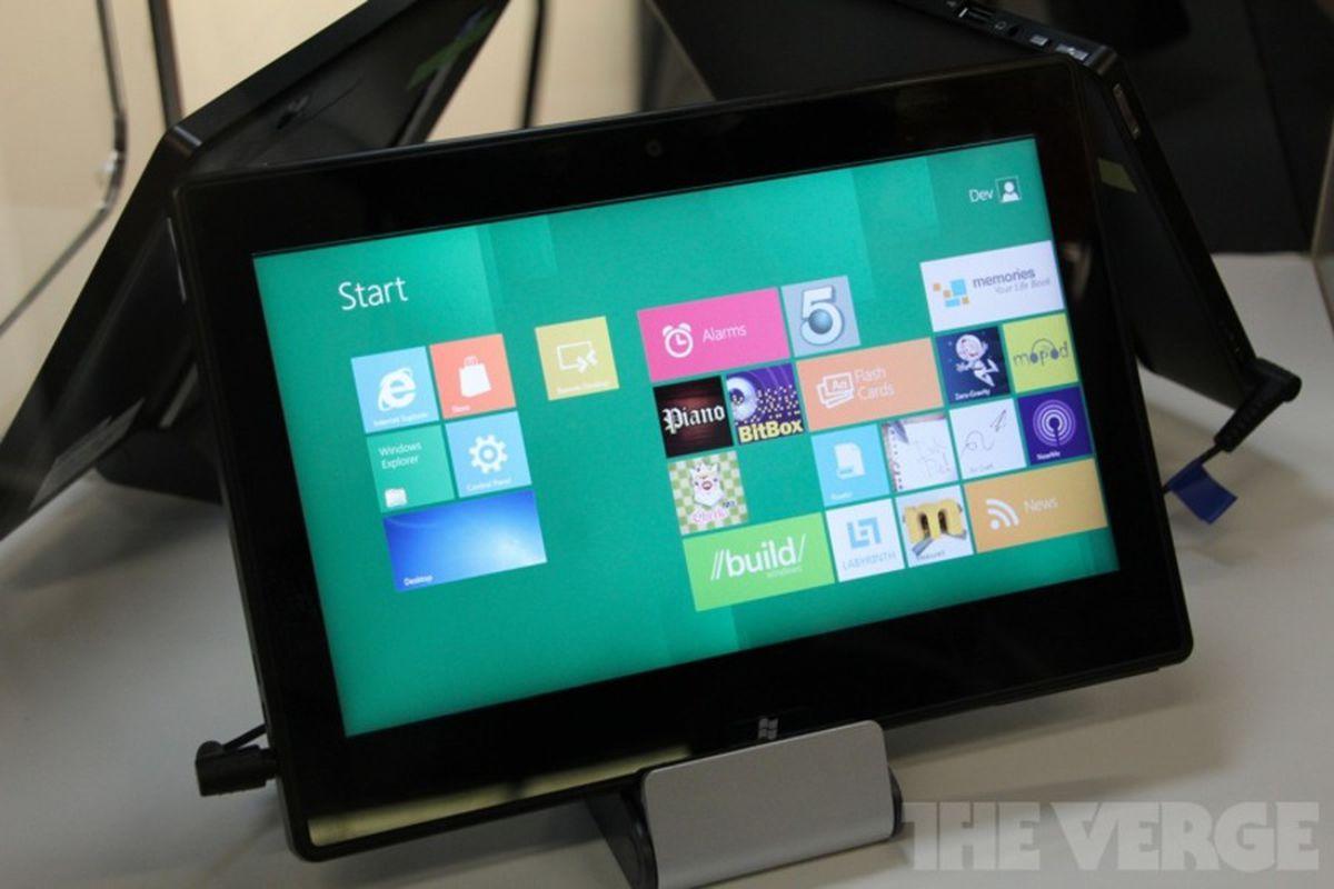 TI Windows 8 tablet ARM