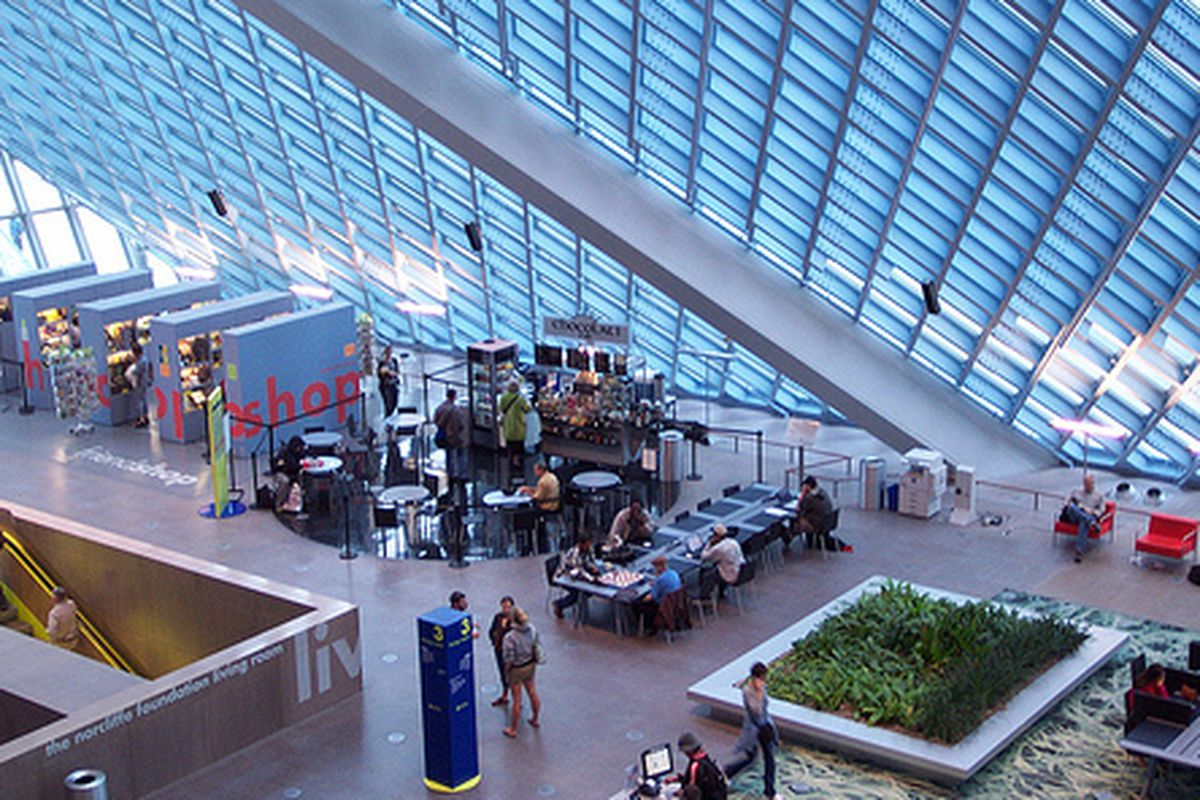 Seattle Public Library Cafe