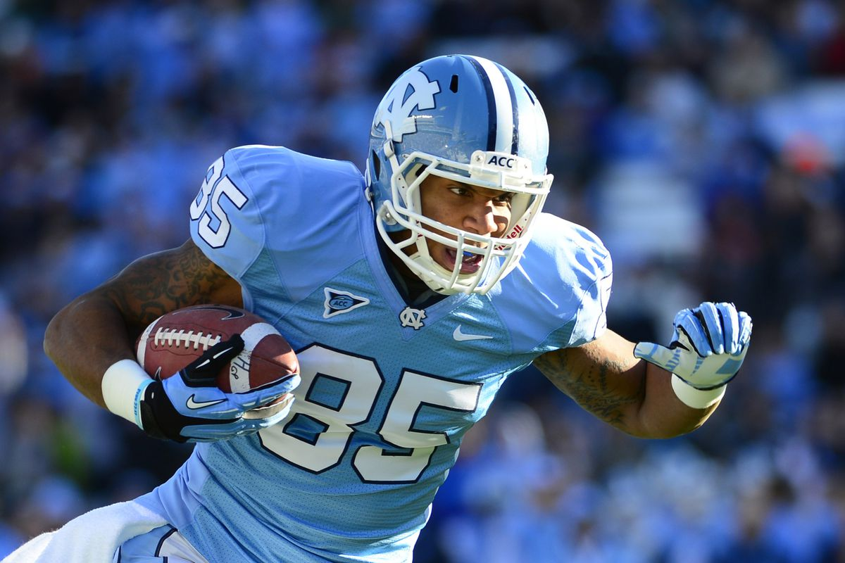 Eric Ebron is among the tight ends Purple Reign Show takes a look at.