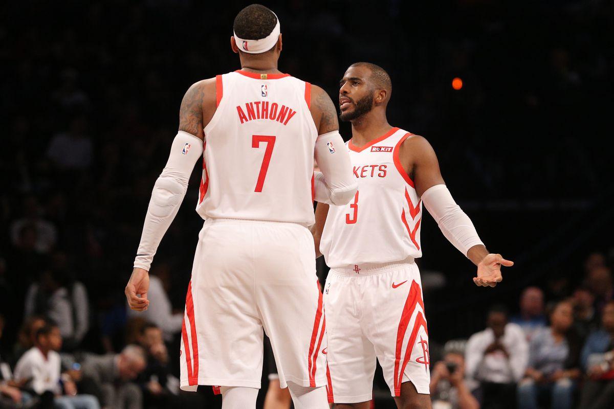 NBA: Houston Rockets at Brooklyn Nets