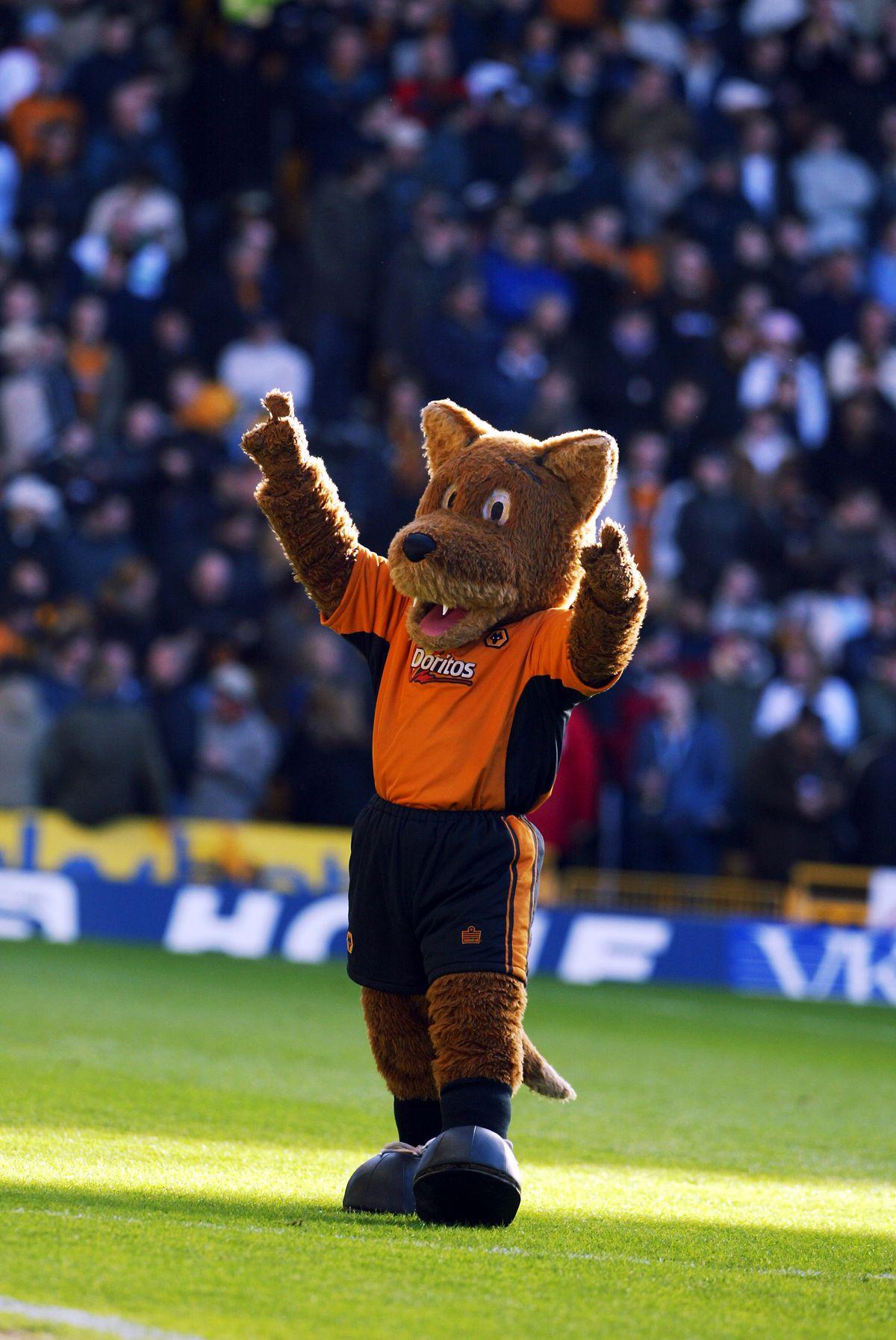 Wolverhampton Wanderers mascot Wolfie