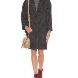 """<a href=""""http://www.mytheresa.com/us_en/delphe-coat.html"""">Delphe Coat</a> by Étoile Isabel Marant at MyTheresa, $610"""