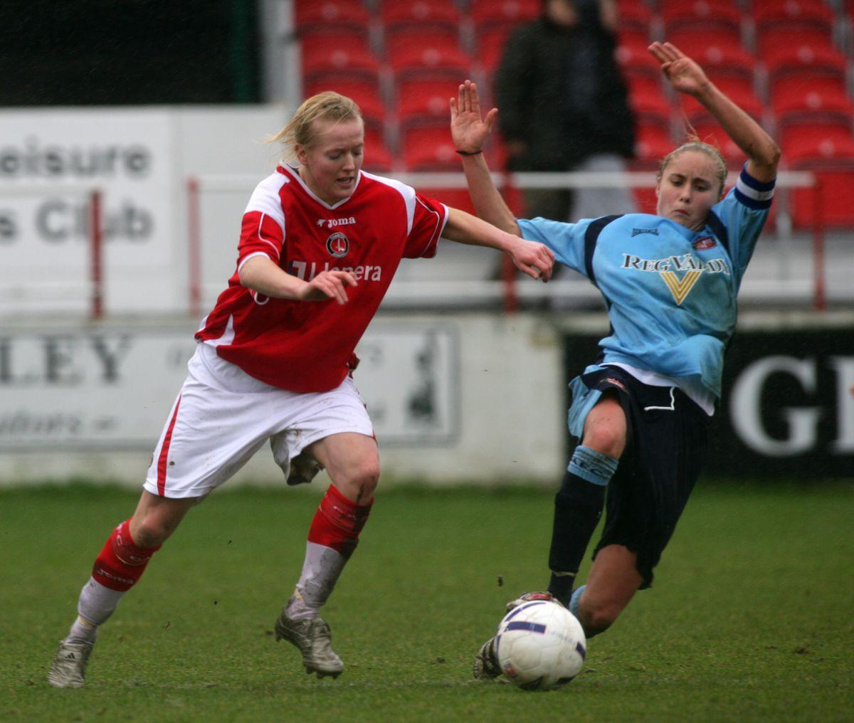 Soccer - FA Nationwide Women's Premier League - Charlton Athletic v Sunderland - Stonebridge Road