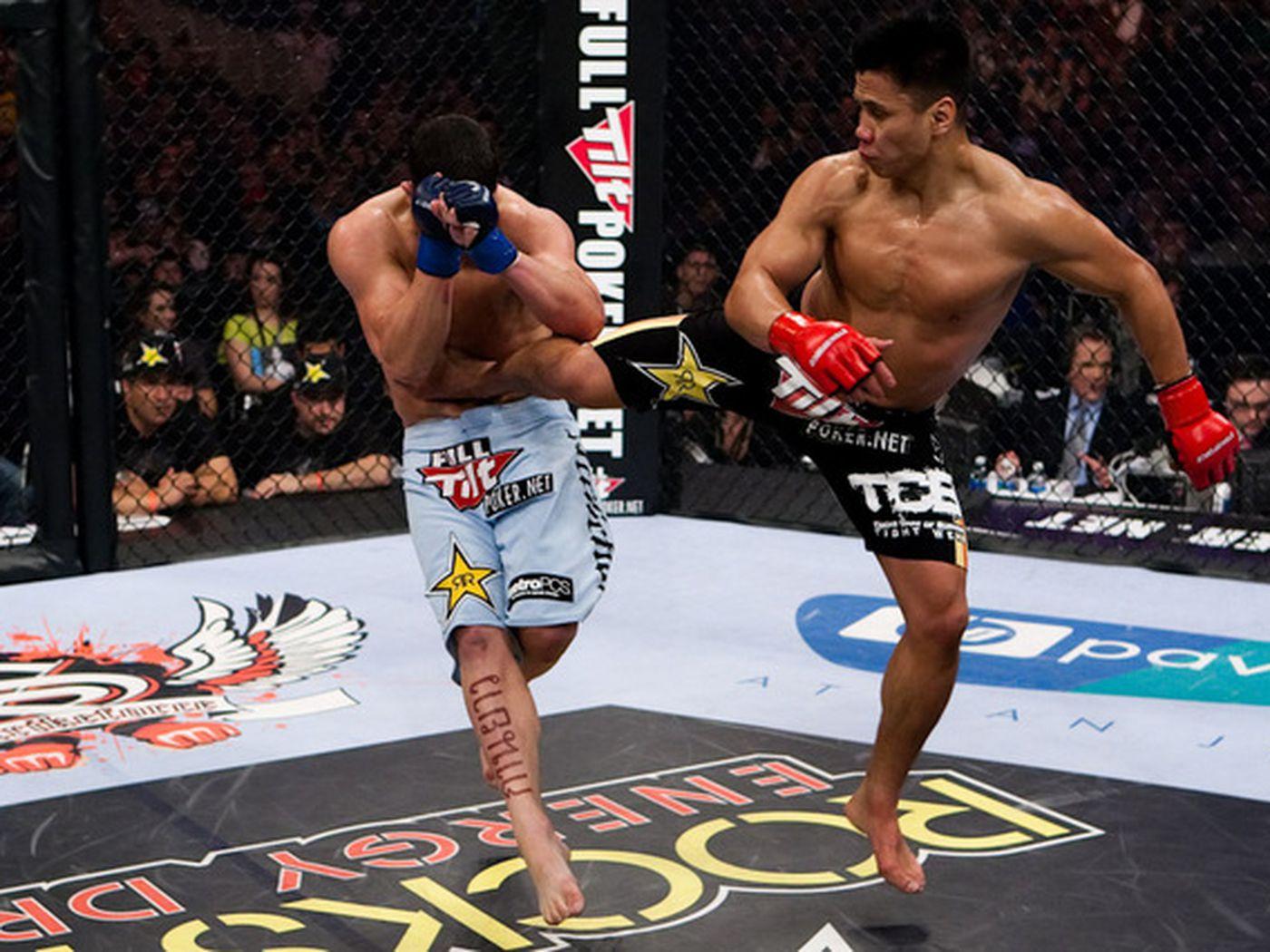 The Striking Zone Cung Le Brings Sanshou And Spinning Back Kicks