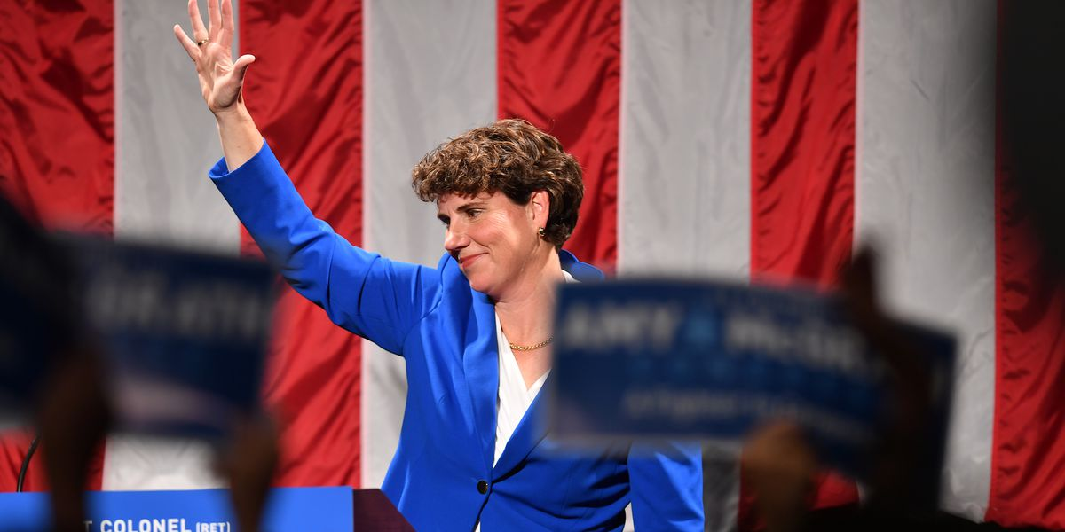 Amy McGrath just won her unexpectedly close Kentucky Senate primary