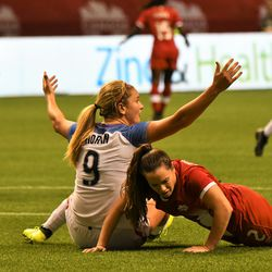 Lindsey Horan, wondering if she's going to get a call.