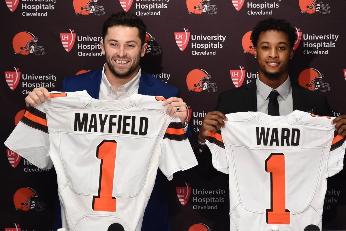 the latest 1a47f 0a689 Oklahoma Football: Baker Mayfield at Browns minicamp ...