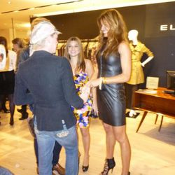 Richie Rich (on left) chatting with Kelly Bensimon (on right)