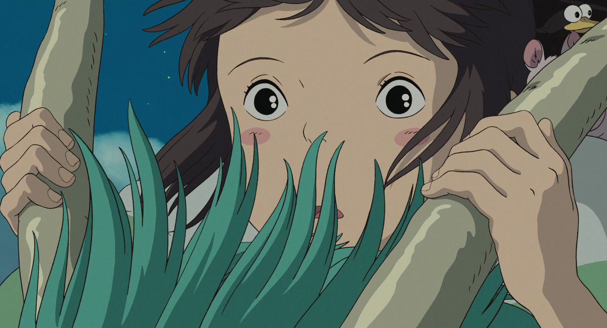 Chihiro learns the River Spirit's name in Spirited Away