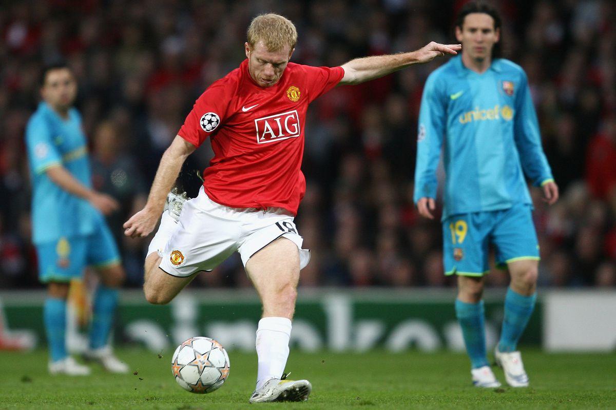 Manchester United v Barcelona - UEFA Champions League Semi Final