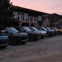 """<em>Rivian had all the colors available. I ended up mainly driving the """"Forest Green.""""</em>"""