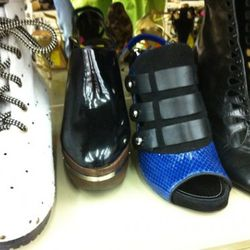Marni clogs and Proenza Schouler shooties (middle two) still there.