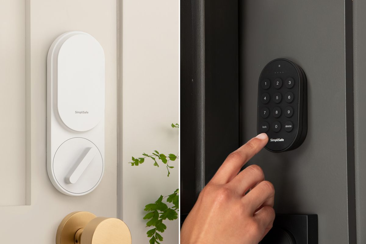 SimpliSafe's new $40 smart lock automatically bolts when you arm ...