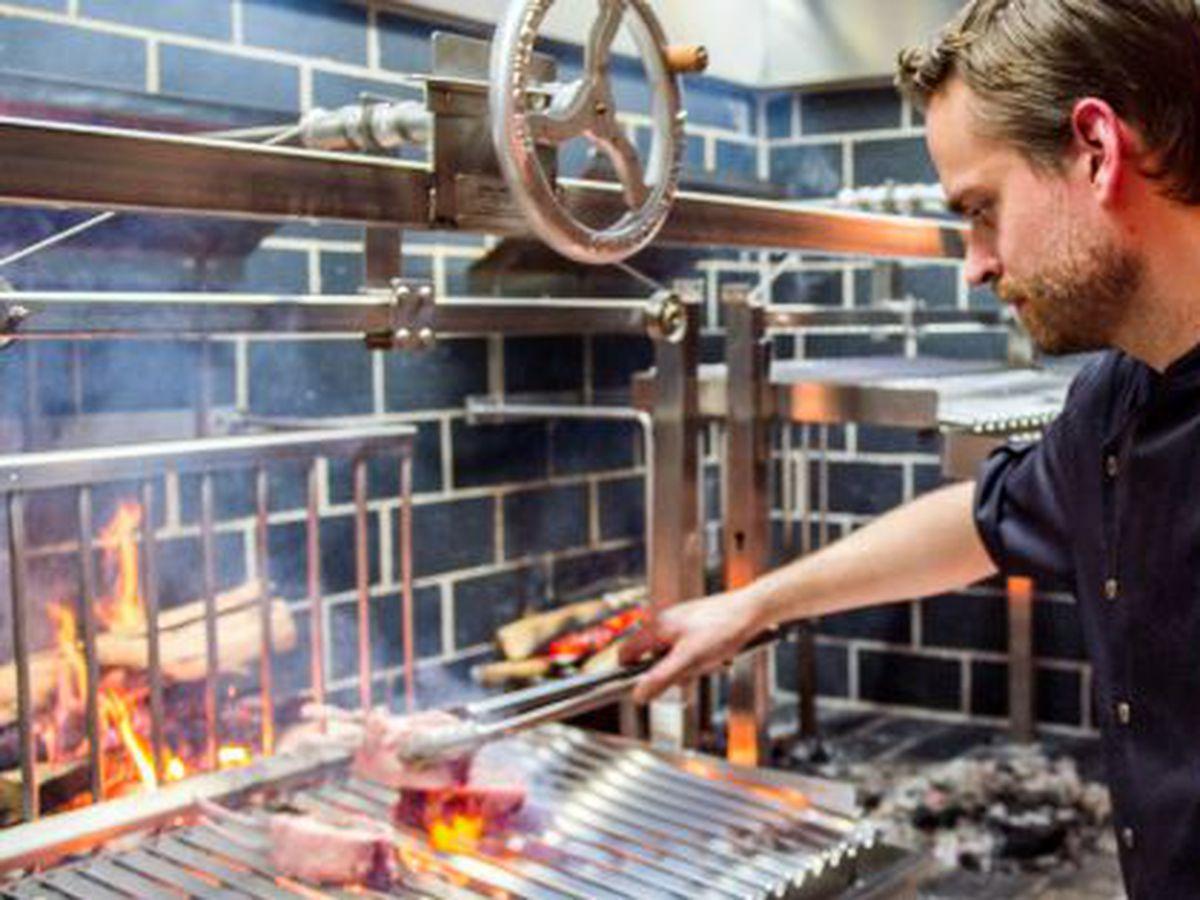 The grill at Rural Society