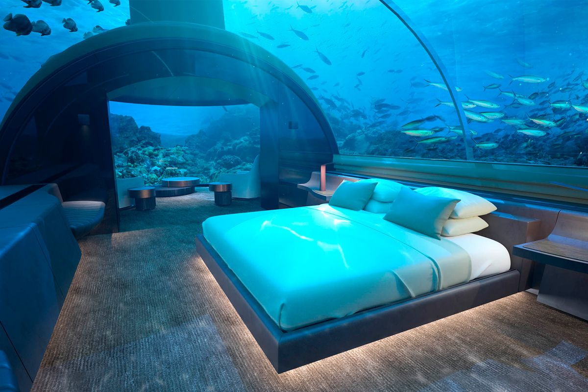 Underwater hotel villa in Maldives yours for $50,000 a night - Curbed
