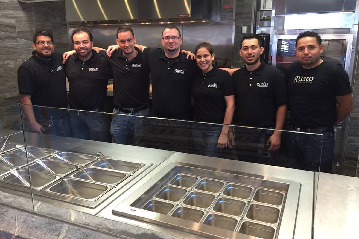 Gusto's Italian Grill team