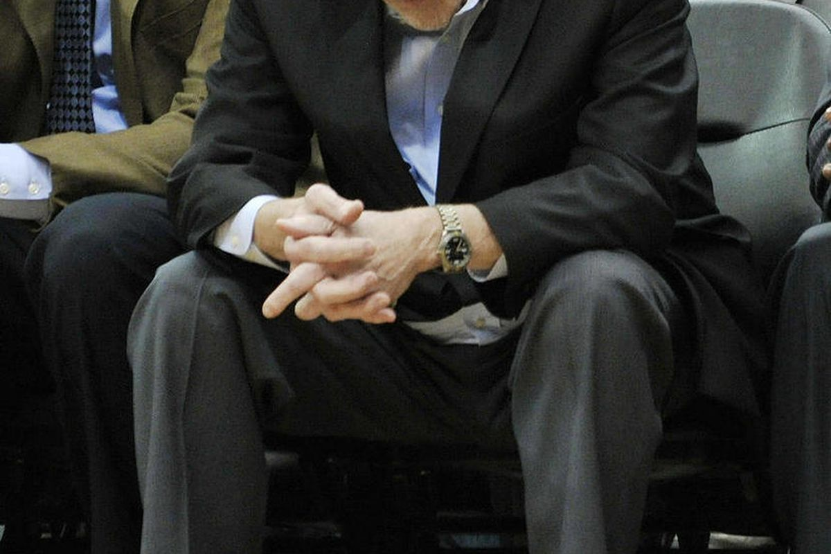 Minnesota Timberwolves coach Rick Adelman looks down in the second half during his team's 131-102 loss to the Denver Nuggets in an NBA basketball game Thursday, April 26, 2012, in Minneapolis. The Timberwolves ended their season with a 26-40 record.