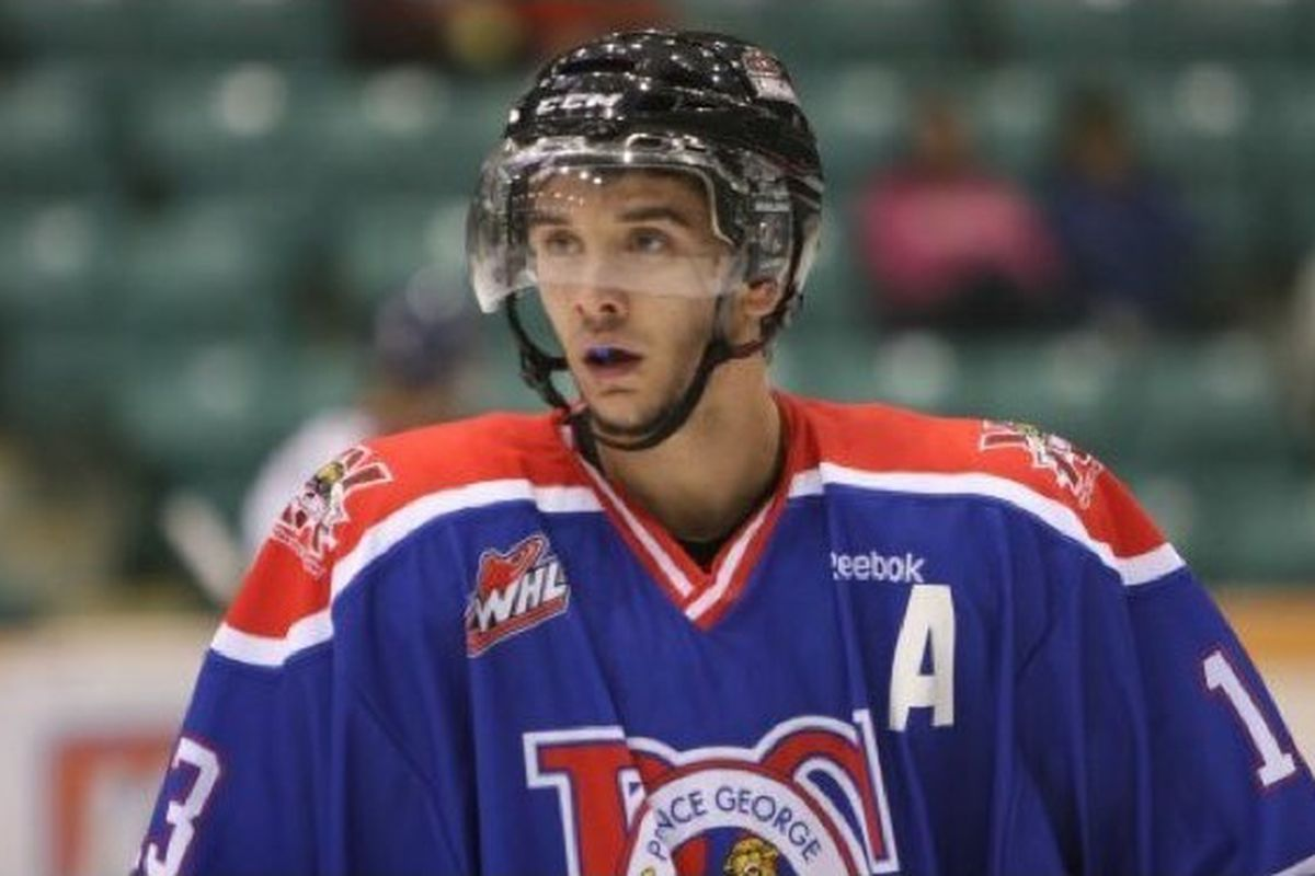 The Blues have reaasigned St. Louis-born Zach Pochiro to major junior. Photo courtesy of
