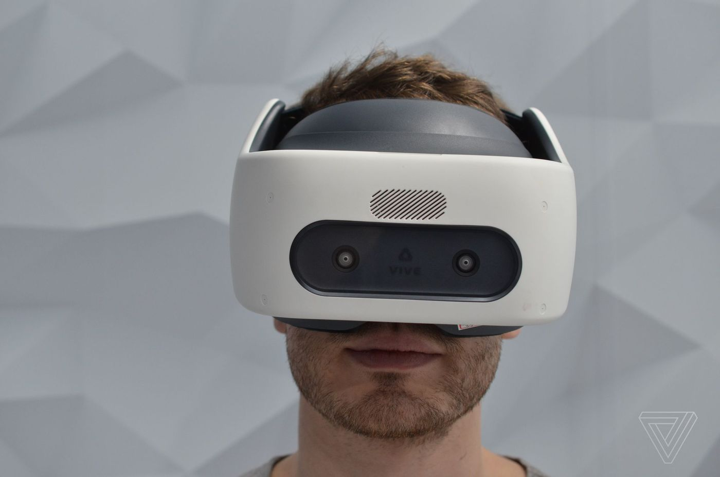 HTC's latest VR headest doesn't need external trackers, but