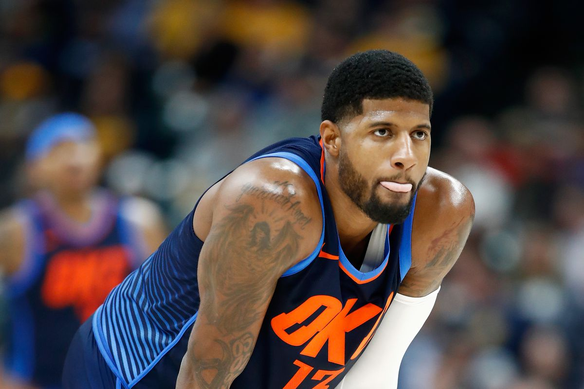 ea1b6829e69 NBA scores 2017: Paul George reluctantly plays villain in Indiana return  and 10 more things from Wednesday