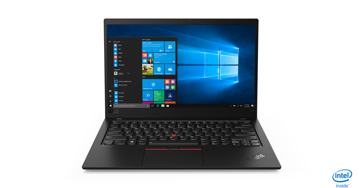 QnA VBage Lenovo updates the ThinkPad X1 Carbon and X1 Yoga with new designs for 2019