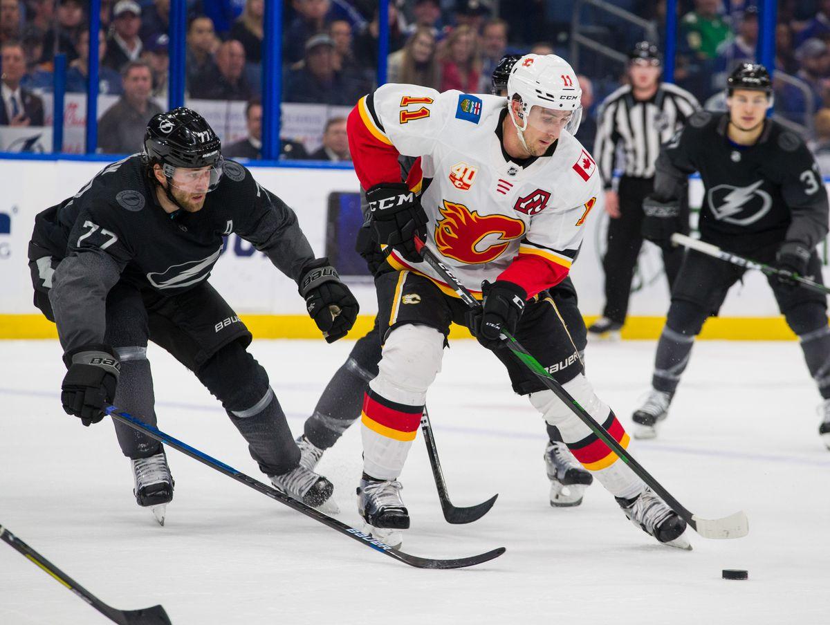 Calgary Flames v Tampa Bay Lightning