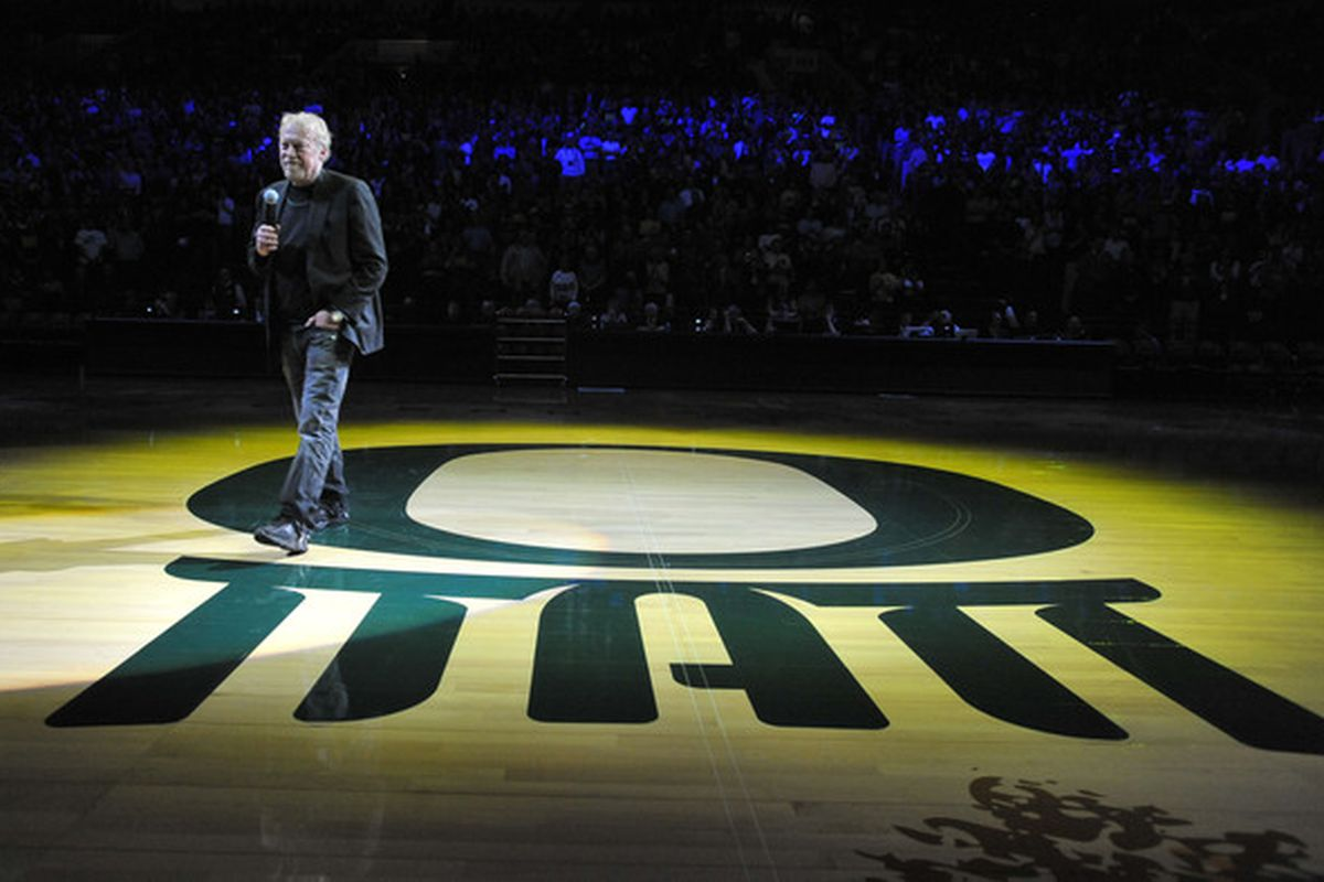 Phil Knight, de-facto owner of Oregon football.