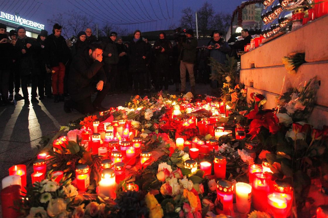 Memorial for victims of Berlin Christmas market attack