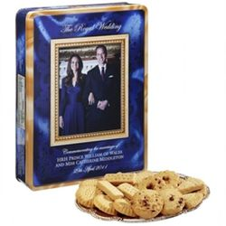 Walkers Shortbread Royal Wedding Cookie Tin