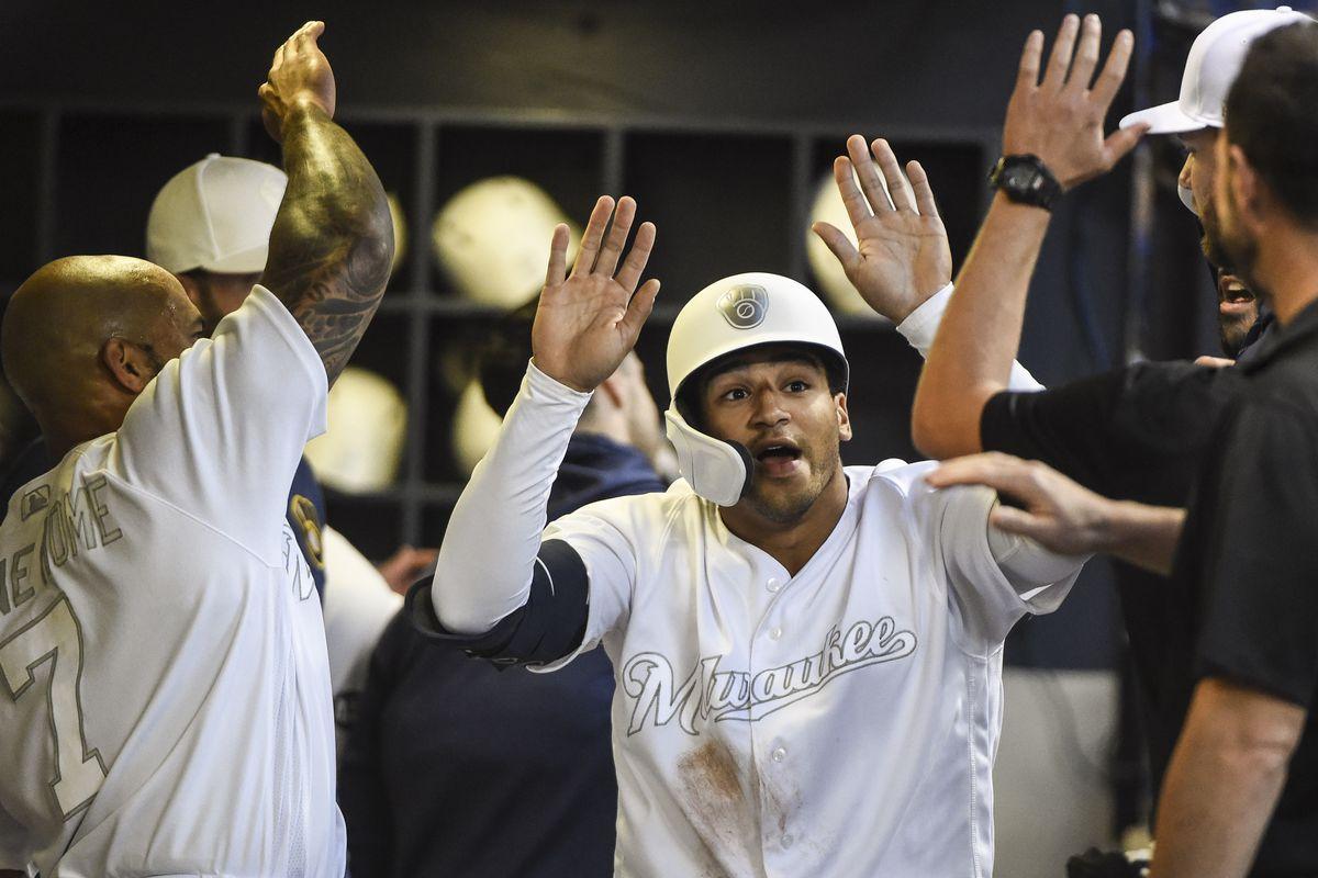 MLB: Arizona Diamondbacks at Milwaukee Brewers