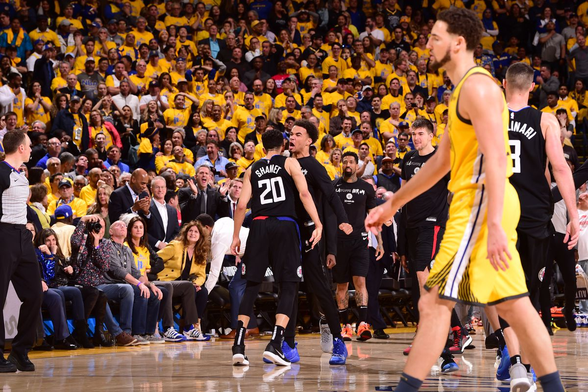 LA Clippers v Golden State Warriors - Game Two