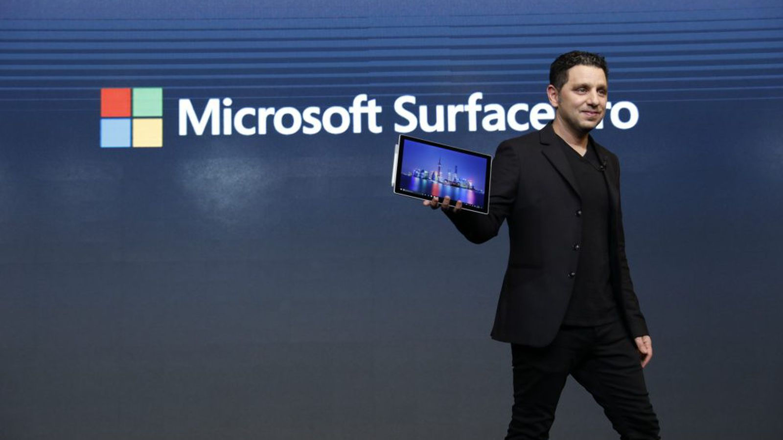 Watch Panos Panay launch Microsoft's new Surface Pro