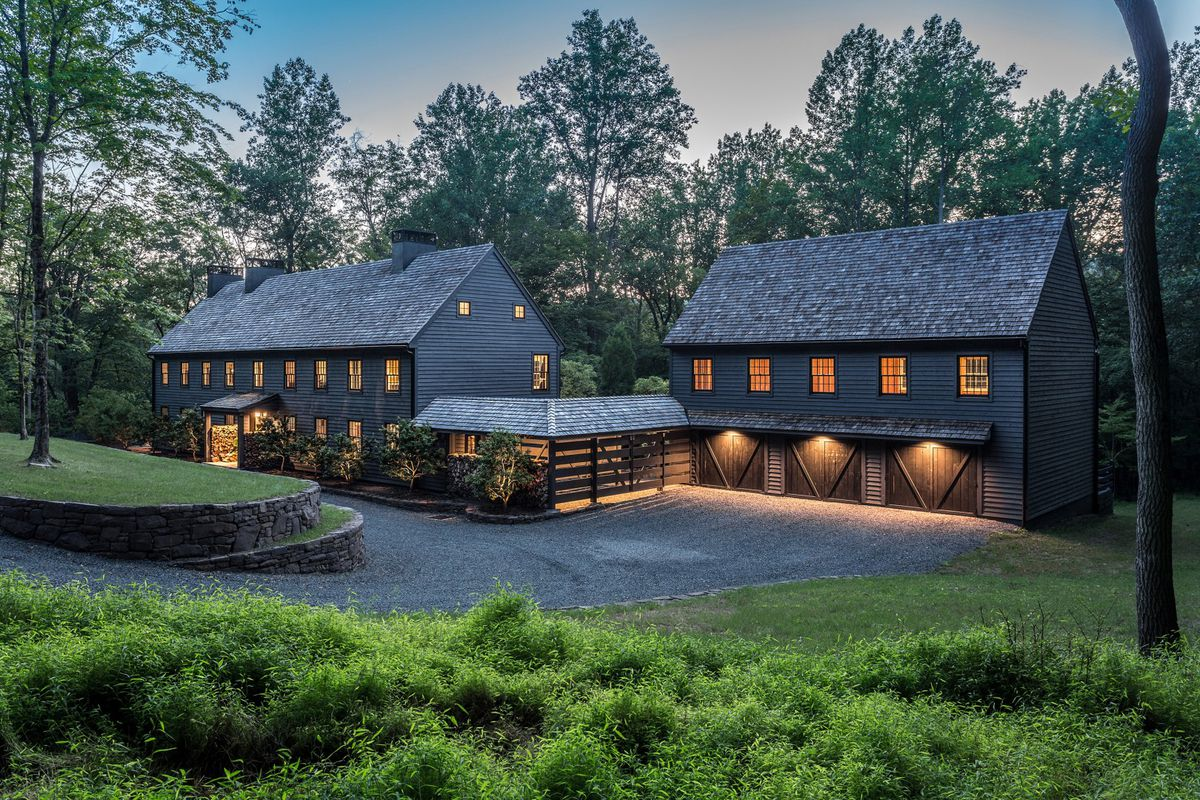 Modern farmhouse on seven bucolic acres asks 3m curbed for New farmhouses