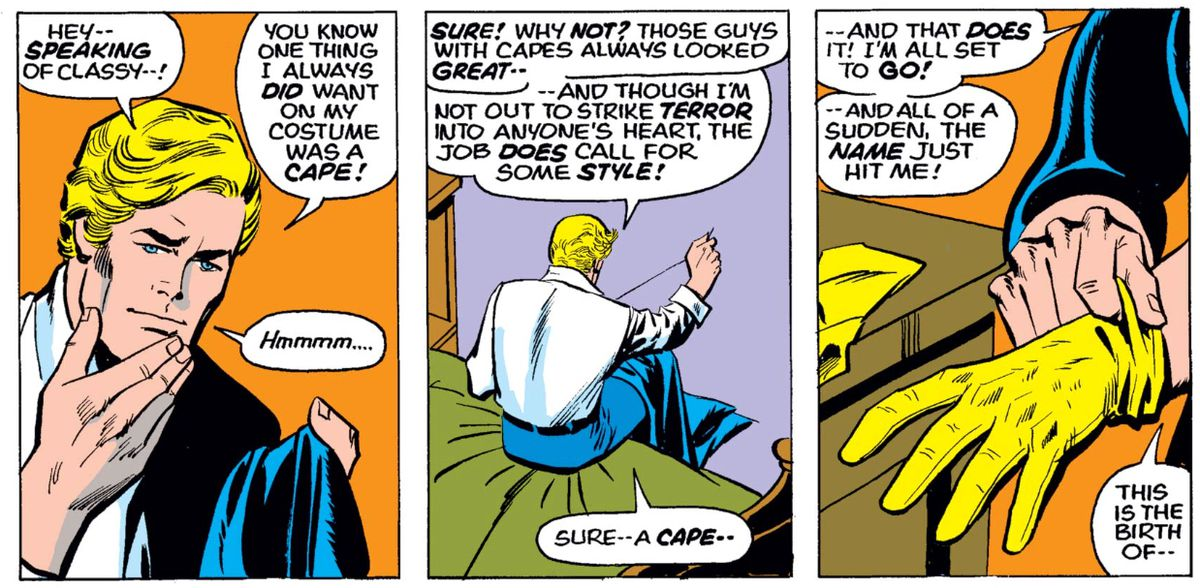 Steve Rogers in Captain America #180, Marvel Comics (1974).